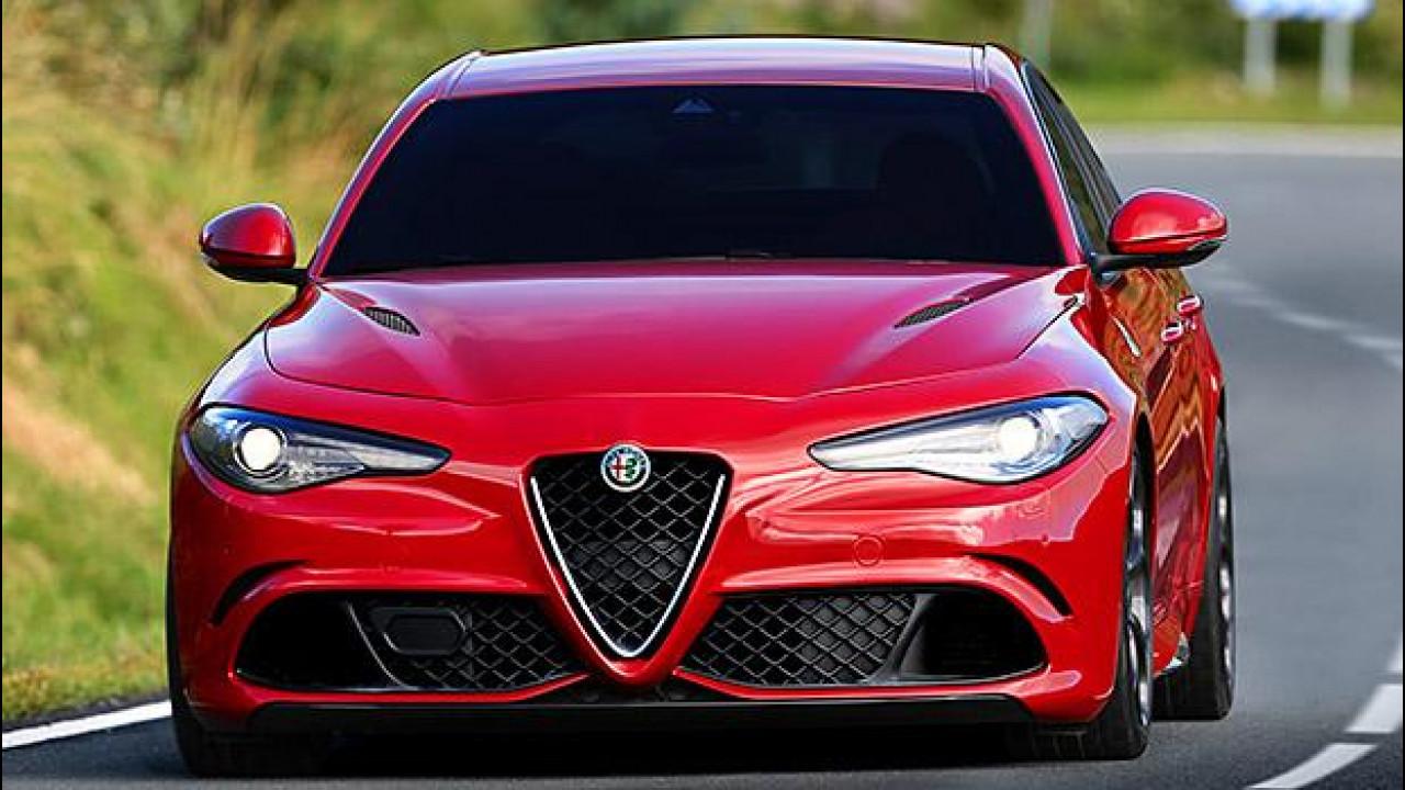 [Copertina] - Alfa Romeo Giulia, la Quadrifoglio costa 79.000 euro