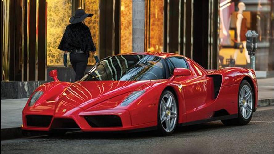 Una Ferrari Enzo del 2003 all'asta per 3,3 milioni di dollari