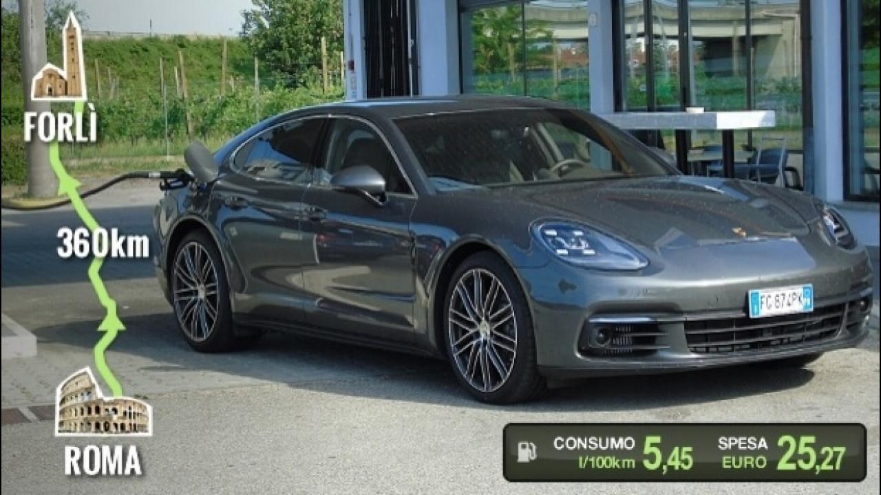 [Copertina] - Porsche Panamera 4S Diesel, la prova dei consumi reali
