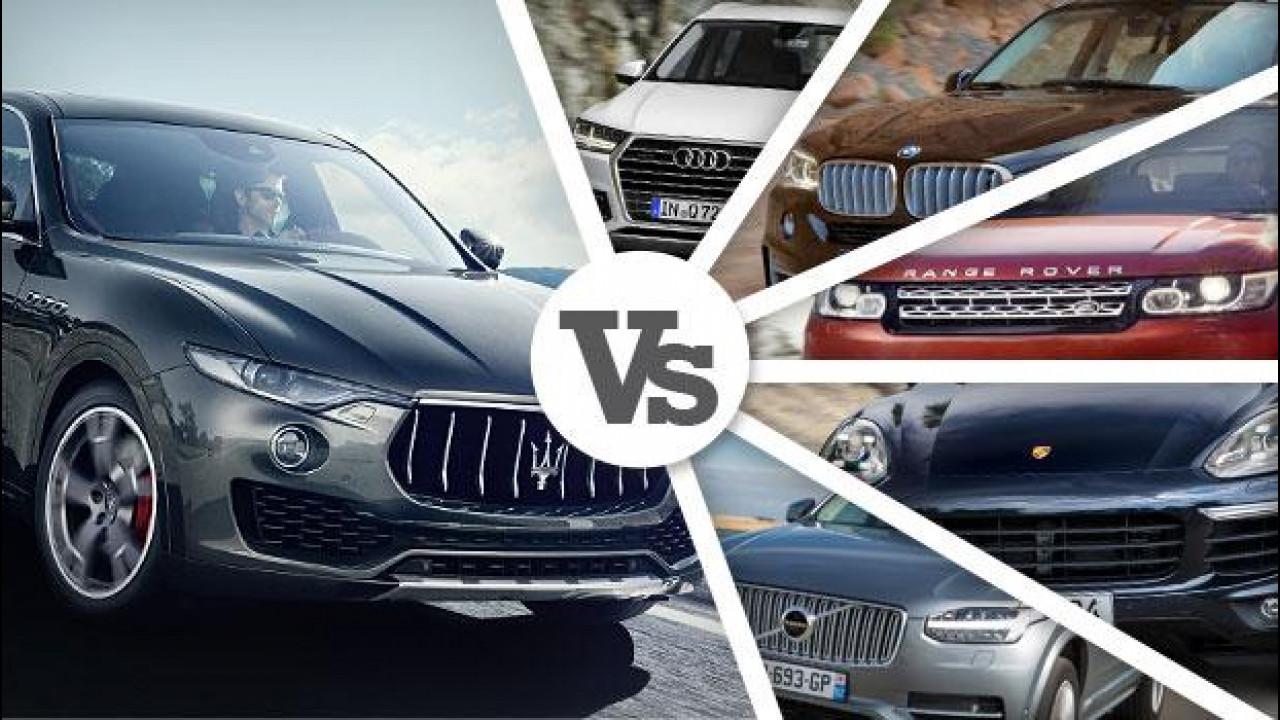[Copertina] - Maserati Levante sfida i SUV di lusso