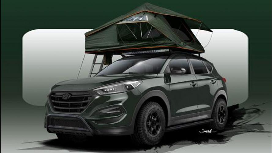 Hyundai Tucson, l'avventura-mobile per il SEMA di Las Vegas