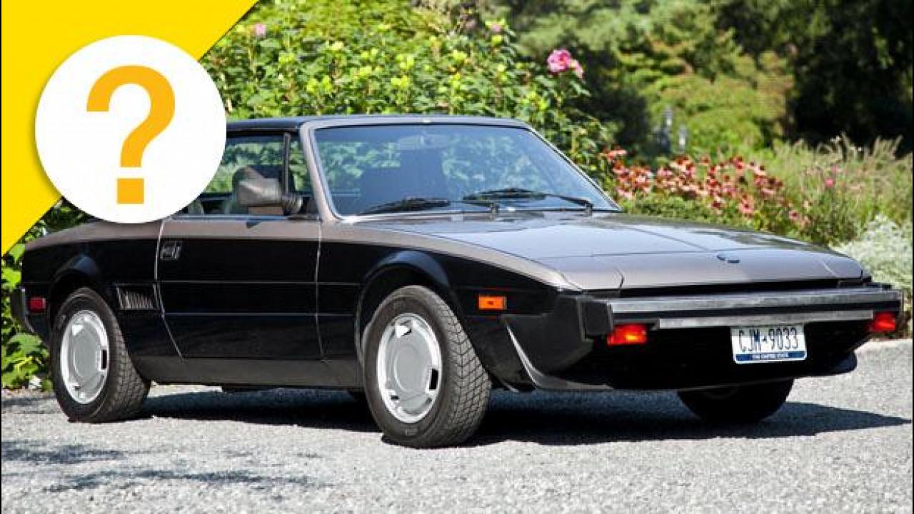 [Copertina] - La Fiat X-1/9 era una 128 girata al contrario