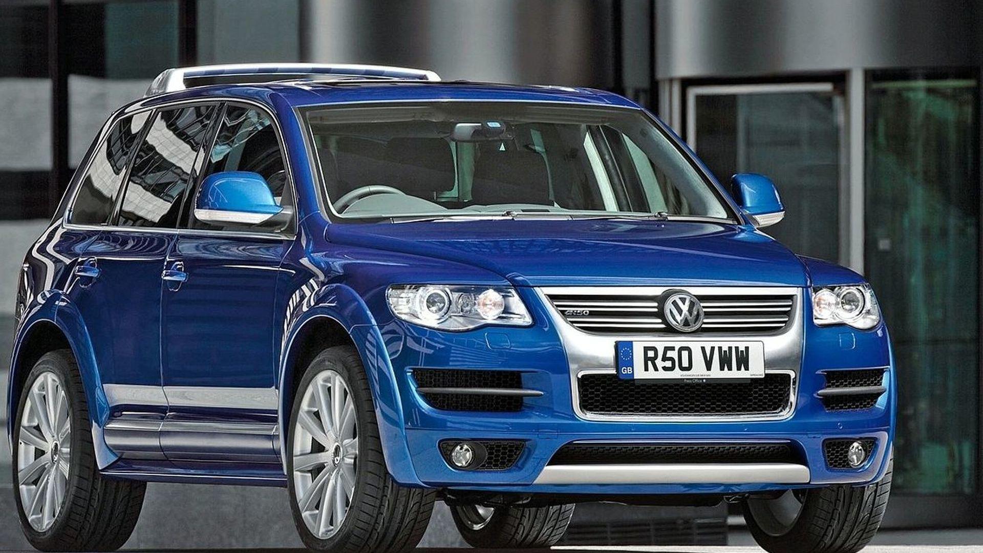 Volkswagen Touareg For Sale >> Volkswagen Touareg R50 Goes On Sale
