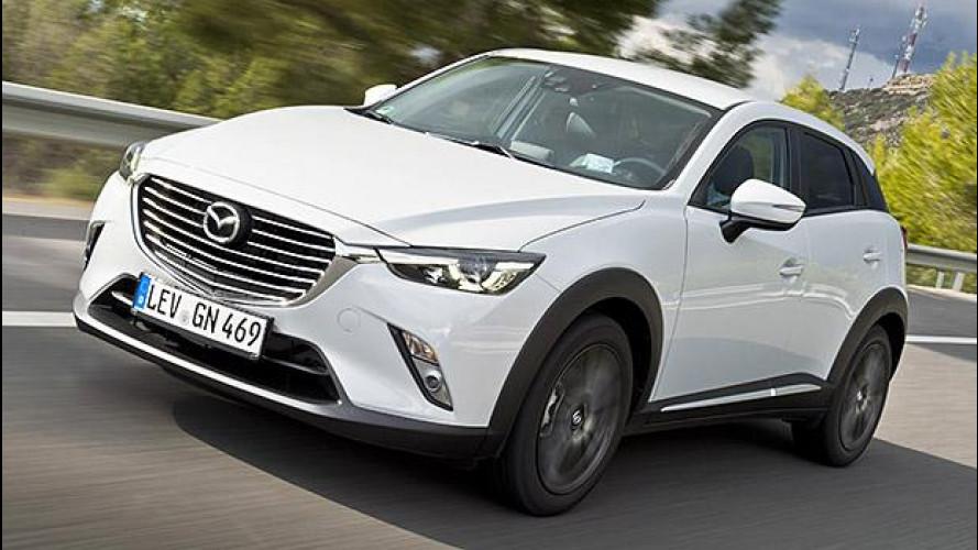 Mazda CX-3, crossover compatto dalle grandi ambizioni