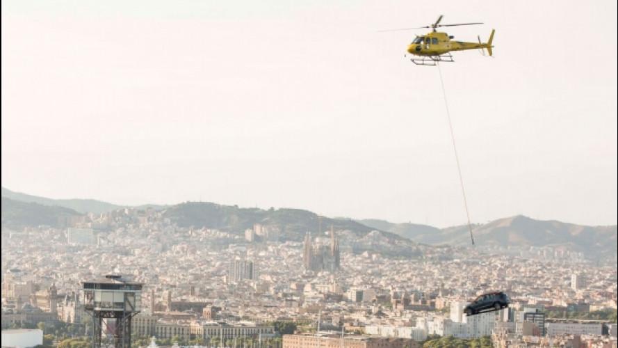 Seat Arona, presentazione spettacolare a Barcellona [VIDEO]