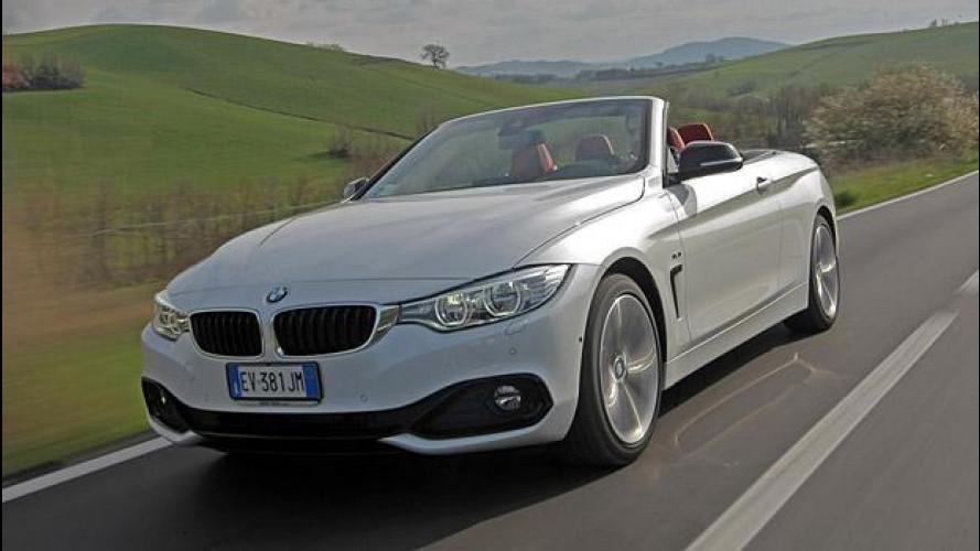 BMW Serie 4 Cabrio, tetto metallico che passione