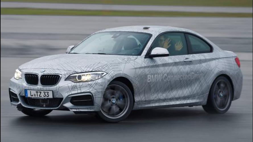"""BMW inventa la sportiva che """"si diverte da sola"""""""