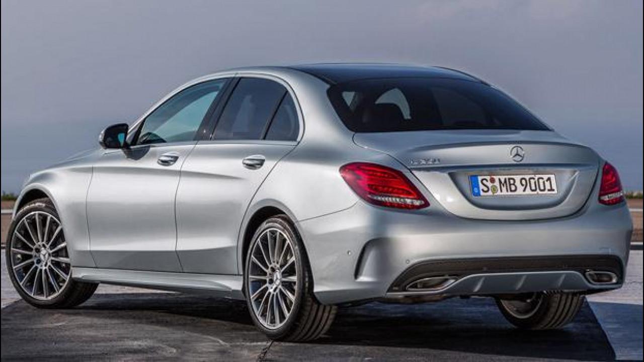 [Copertina] - Nuova Mercedes Classe C, listino prezzi da 32.553 euro