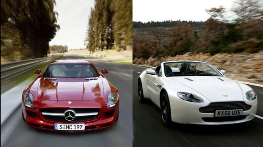 [Copertina] - Aston Martin, i motori V8 saranno Mercedes-AMG