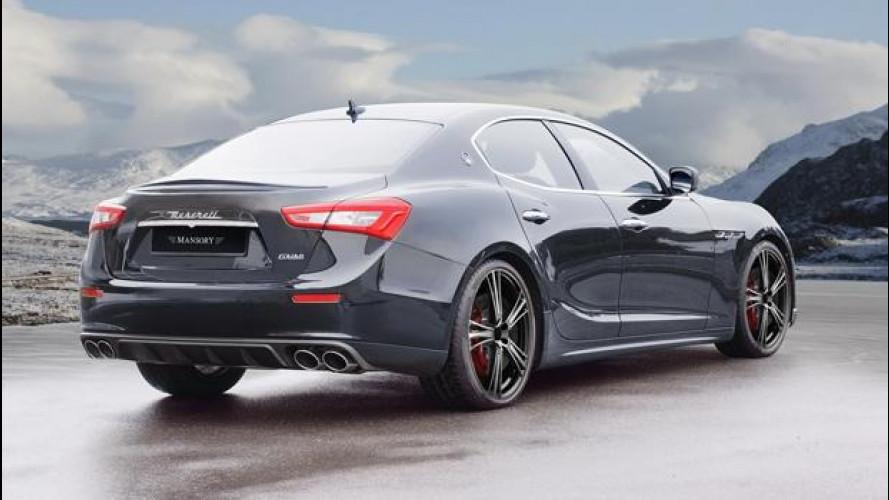 [Copertina] - Maserati Ghibli, per Mansory è tempo di tuning