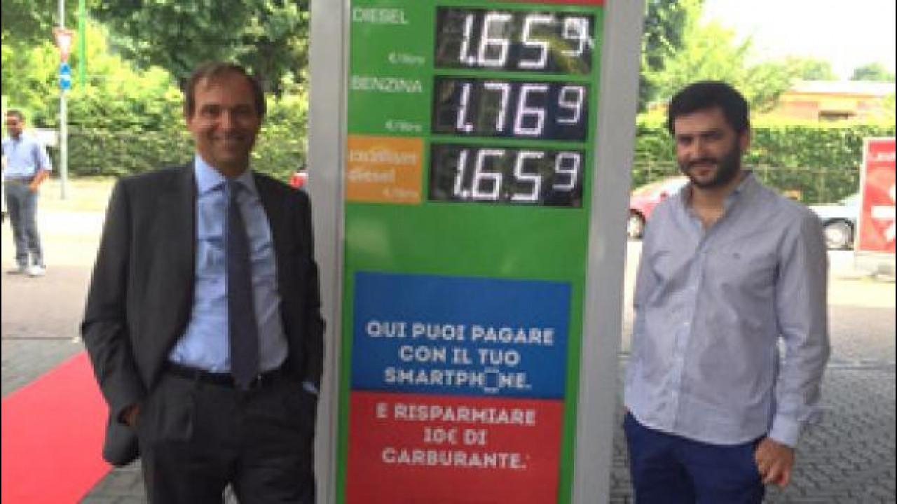 [Copertina] - Il pieno di benzina? Si paga con lo smartphone