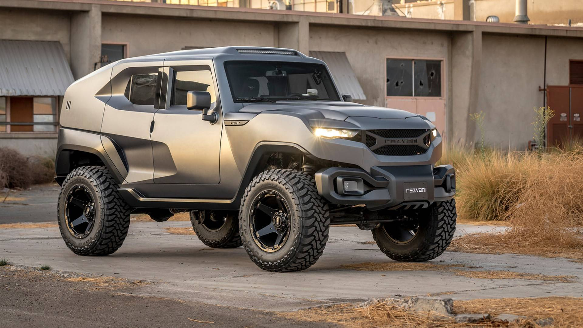 Most Expensive Rezvani Tank Costs 305 075