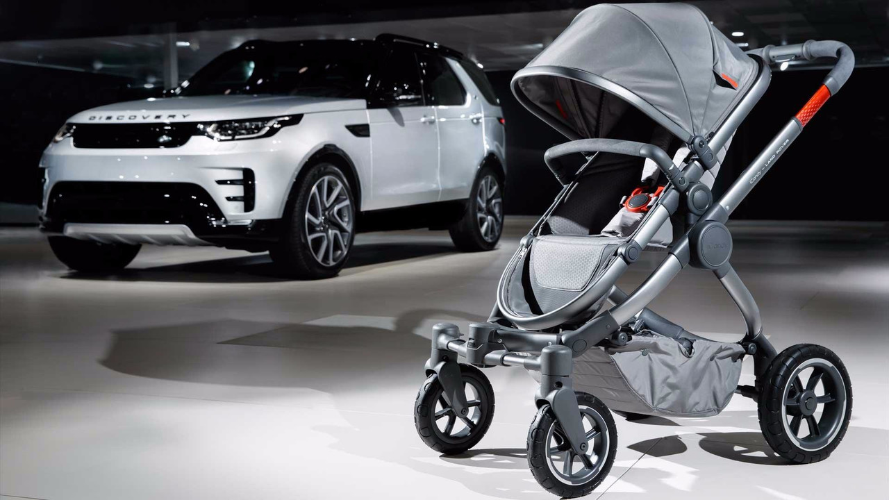 Land Rover off-road stroller