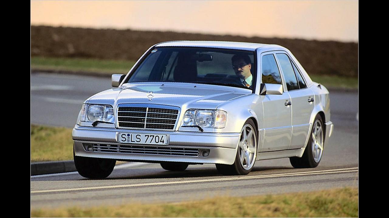 Platz 9: Mercedes 500 E (W 124)