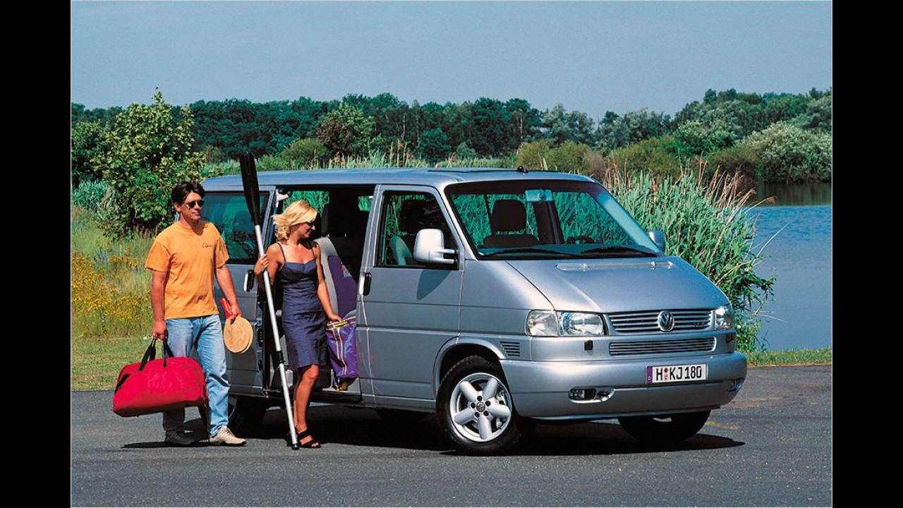 Platz 16: VW T4 Caravelle, Multivan 2.5 TDI