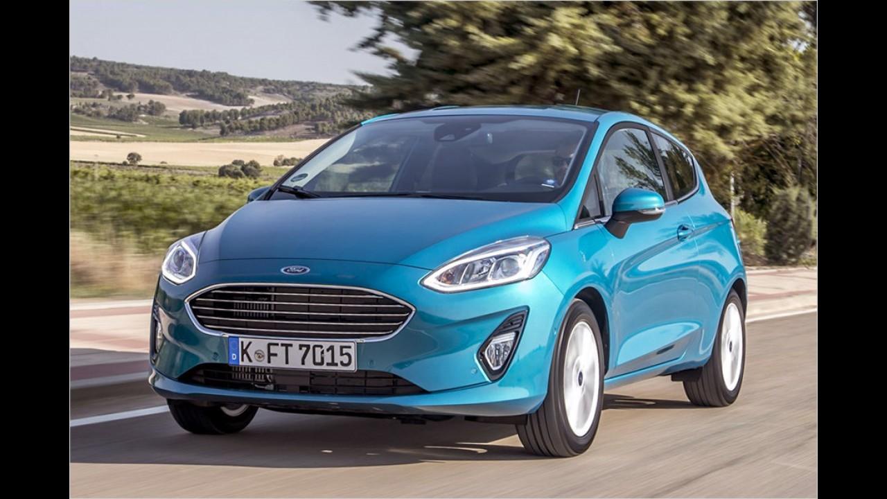 Platz 12: Ford Fiesta (292 Liter)