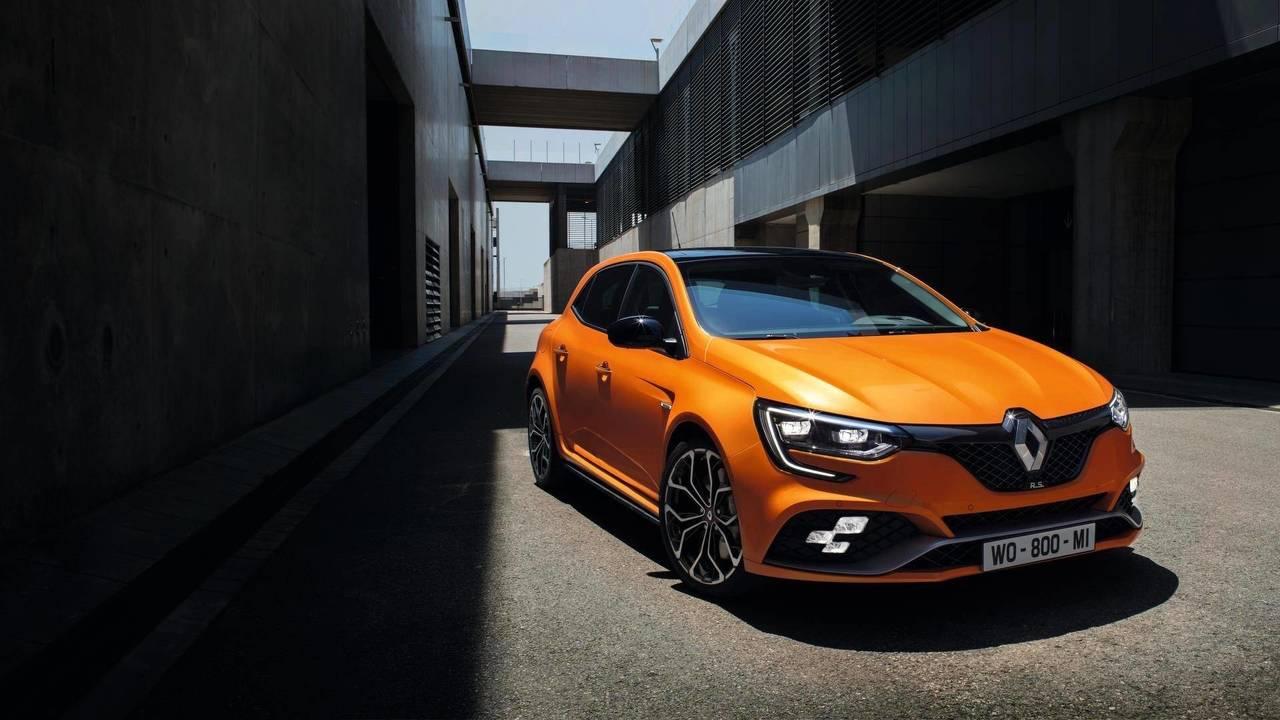 10. 2018 Renaultsport Megane: 276bhp