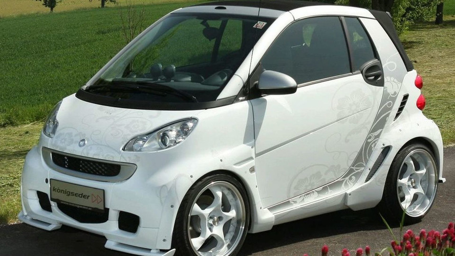 Smart forTwo Cabrio Widebody by Konigseder