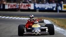 Hockenheim 1986: Nelson Piquet (Williams) y Keke Rosberg (McLaren)