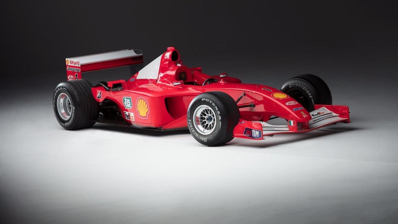 2001 Scuderia Ferrari Marlboro F2001 (Photo Credit: Pawel Litwinski / Sotheby's)