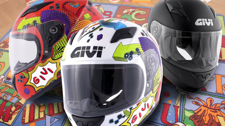 GIVI presenta su nuevo casco integral para niños