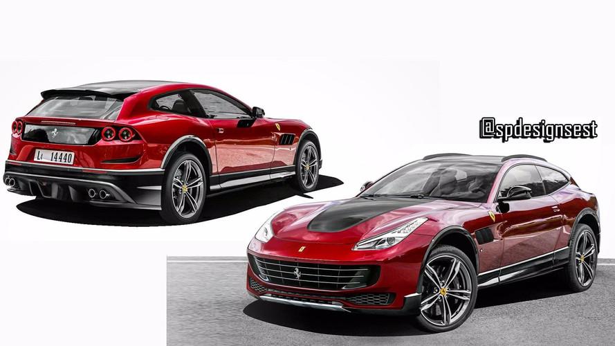 Akár ilyen formában is érkezhet a Ferrari SUV-ja