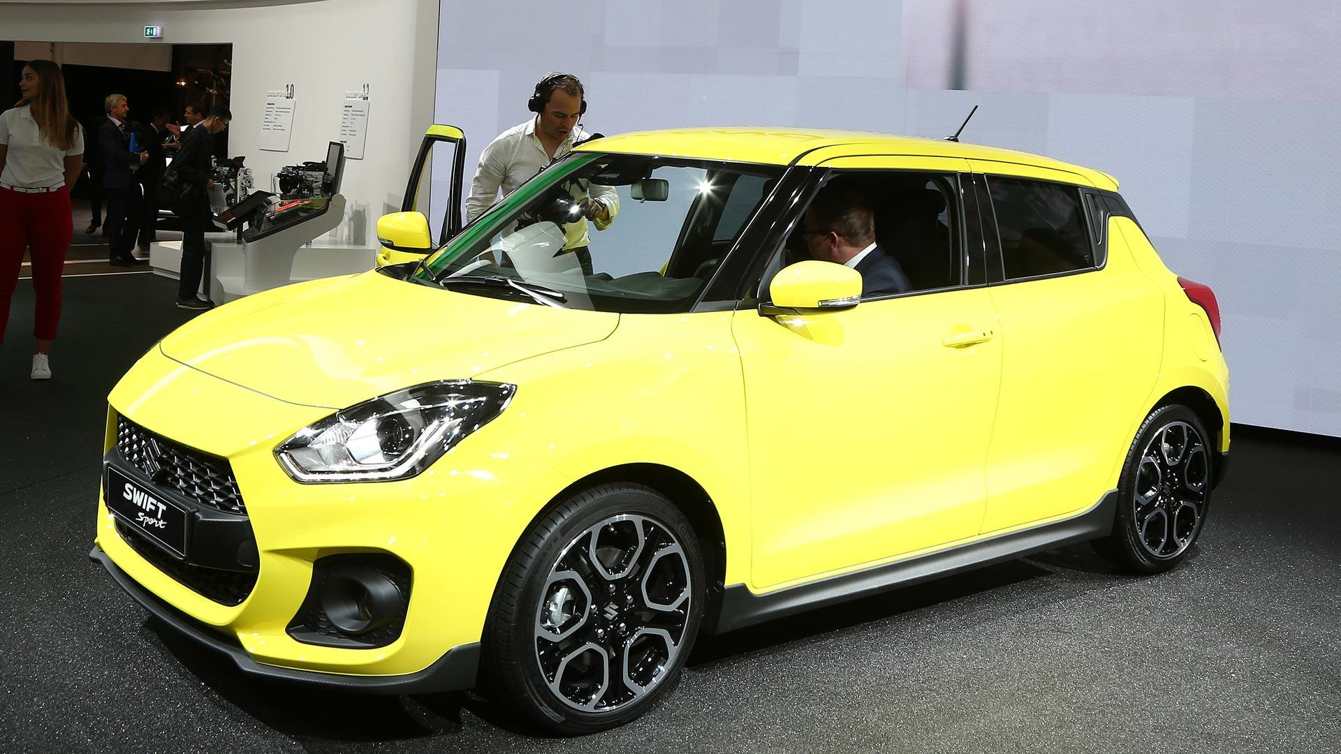 2018 suzuki swift sport adds turbo, removes weight maruti suzuki swift suzuki swift black stance #15
