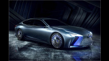 Lexus zeigt Designstudie LS+ Concept in Tokio