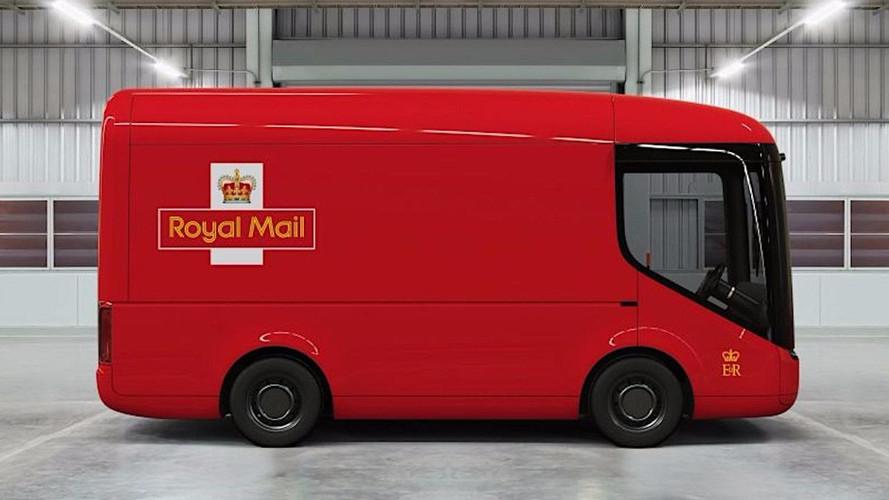 İngiliz posta servisine elektrikli kamyon