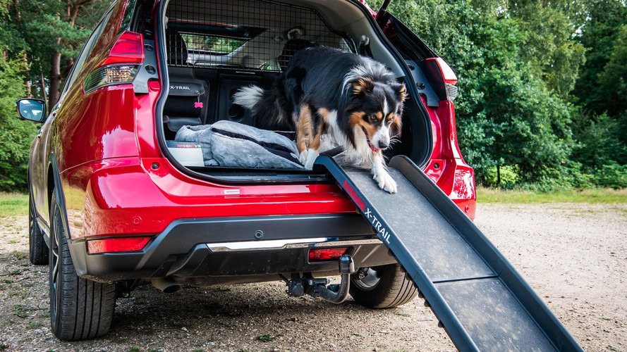 Nissan X Trail For Dogs >> Nissan X-Trail Adds 'Paw Pack' In U.K. For Canine Adventures