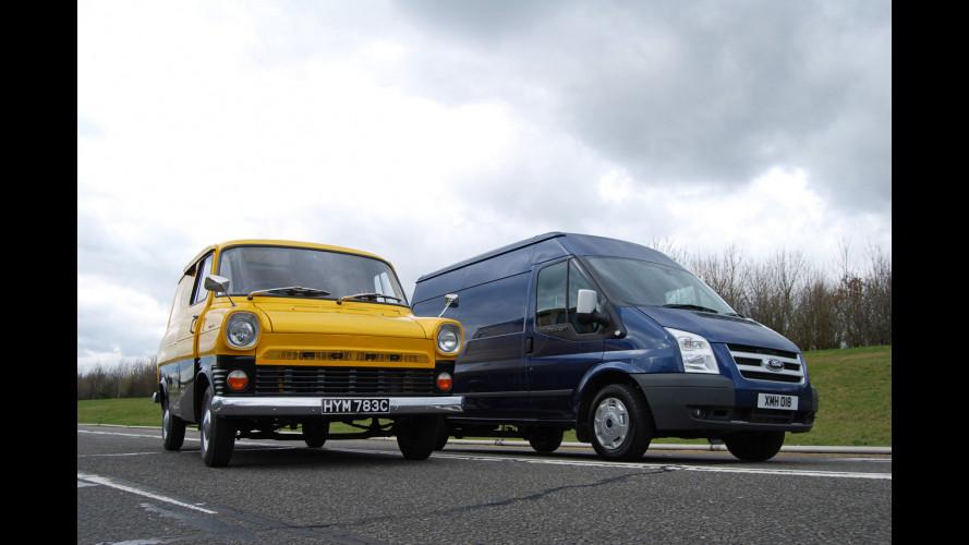 Ford Transit festeggia 45 anni