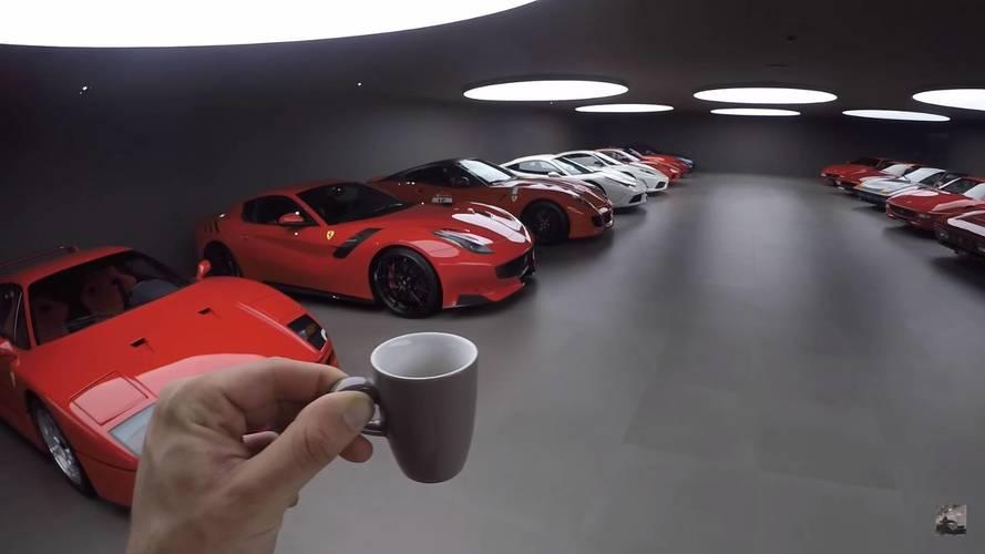 VIDÉO - L'impressionnante collection Ferrari de Swizzcars