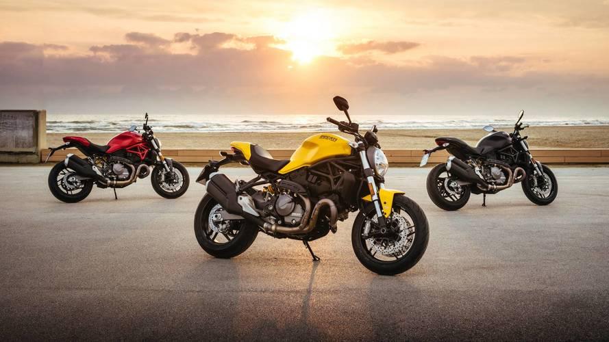 Ducati presenta su primera novedad para 2018: la Monster 821