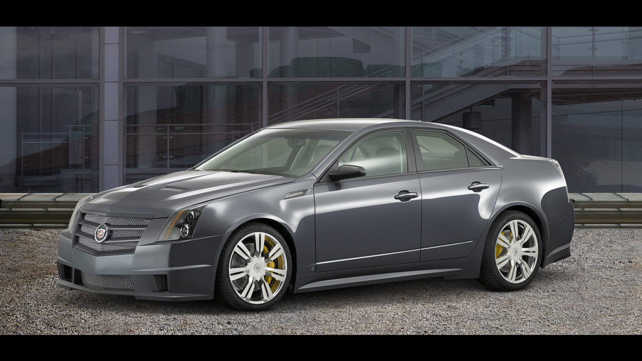 Cadillac CTS Sport al SEMA