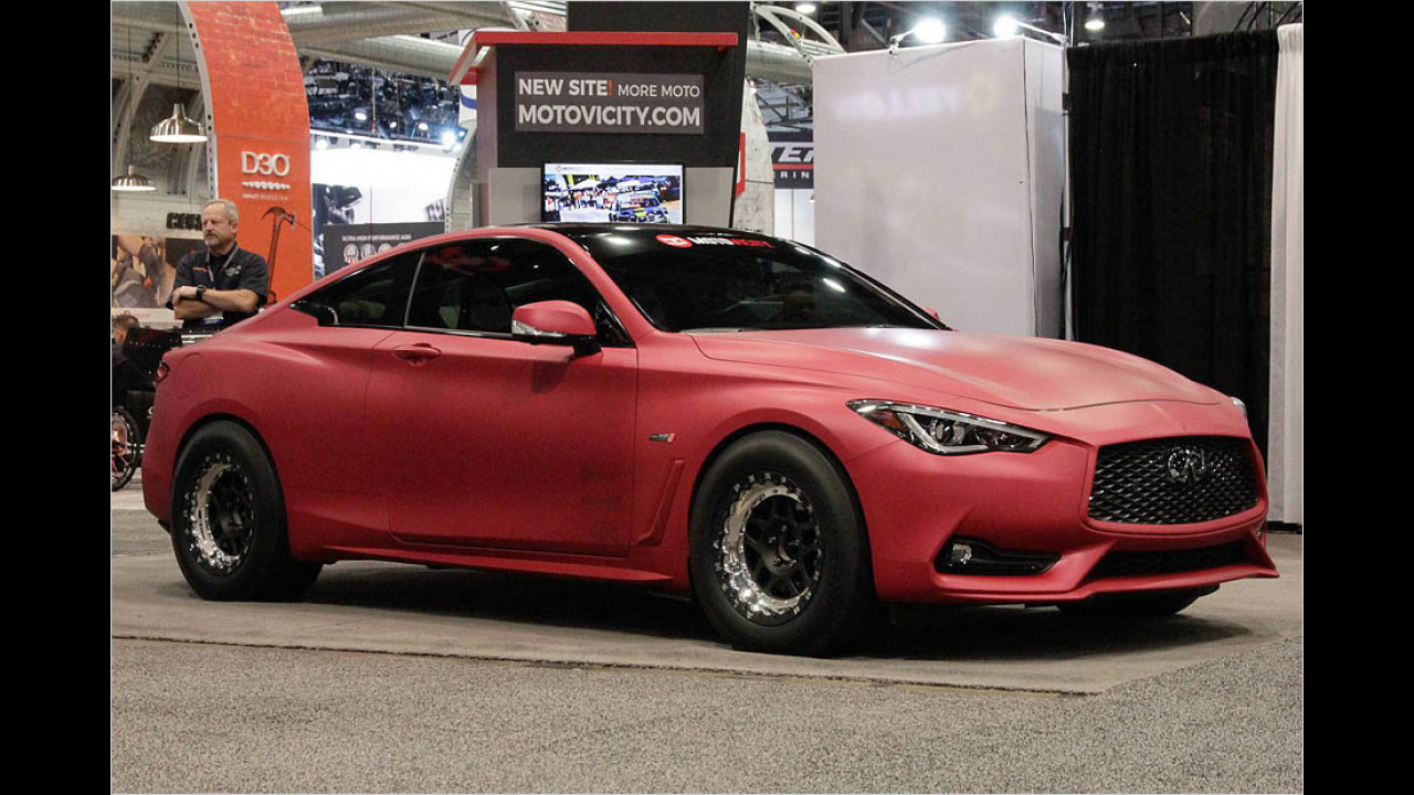AMS Performance Infiniti Q60 Red Alpha