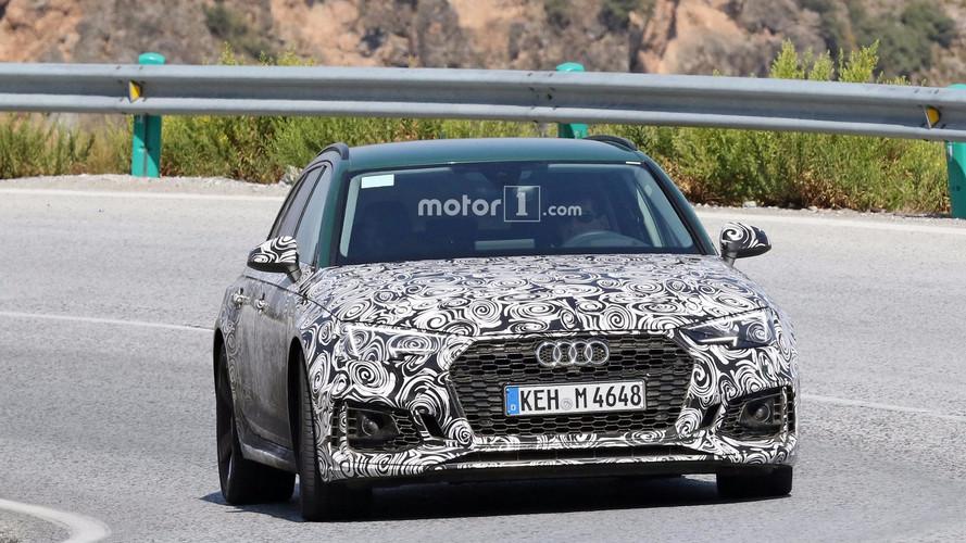 Audi RS4 Avant yeşil rengiyle yakalandı