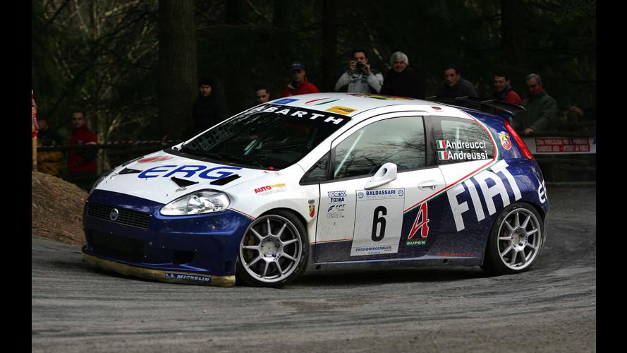 Fiat Grande Punto conquista l'Europeo Rally