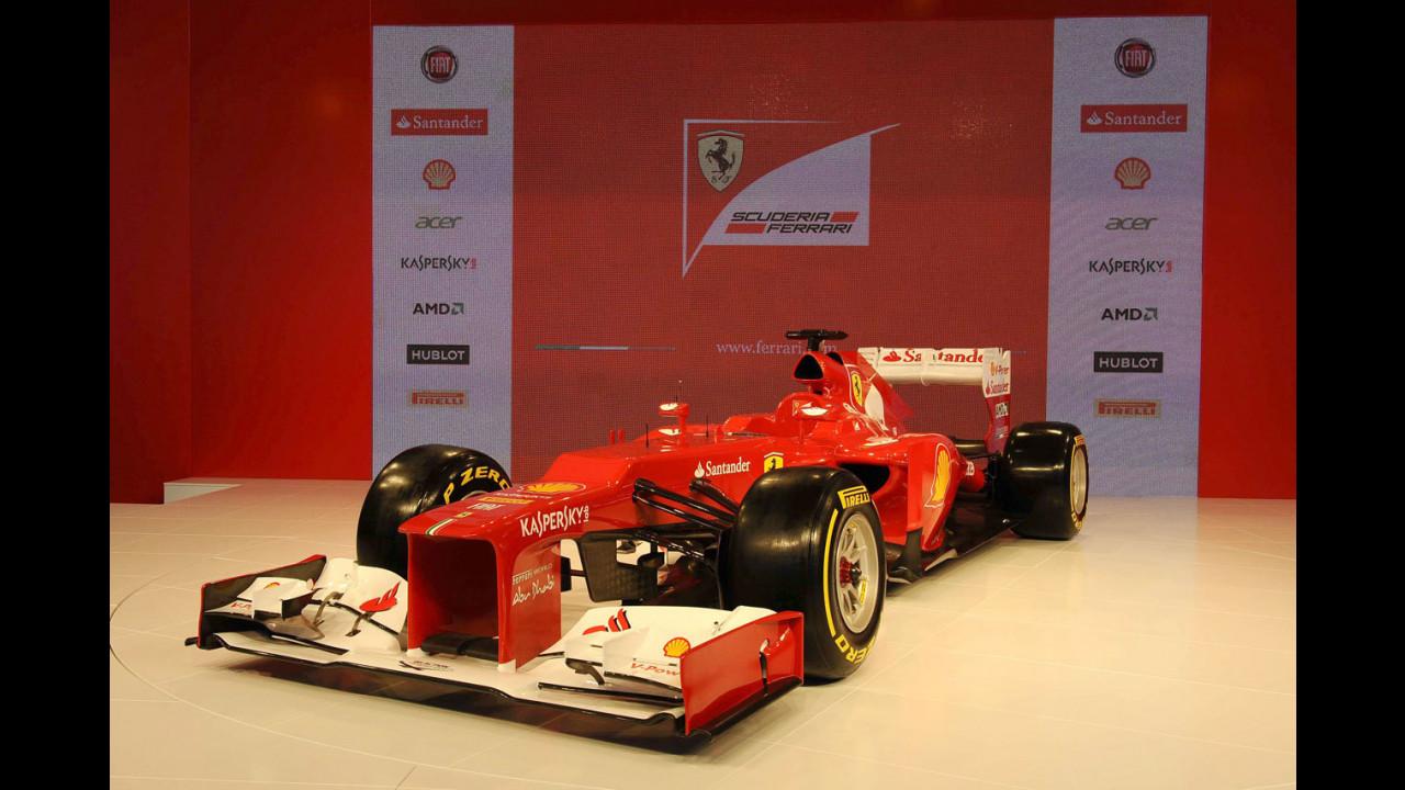 Ferrari F2012, la presentazione a Maranello