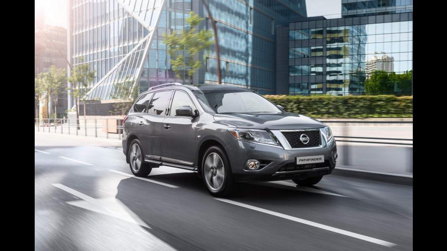 Nissan alla conquista della Russia, anche con il Pathfinder ibrido