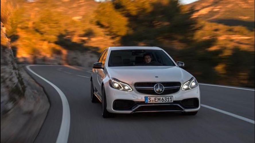 Mercedes E 63 AMG S 4Matic, con 585 CV la prova è