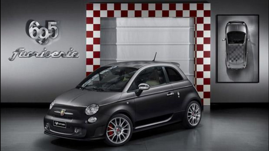 Le nuove Abarth 695 Fuoriserie: Record, Scorpione, Hype e Black Diamond