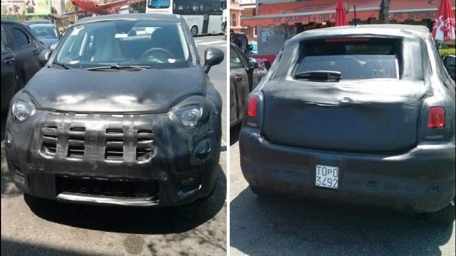 Fiat 500X, nuove foto spia esclusive