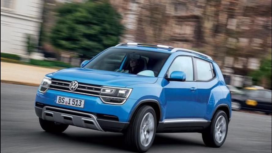 Volkswagen Taigun, la nuova SUV compatta pronta per il 2016