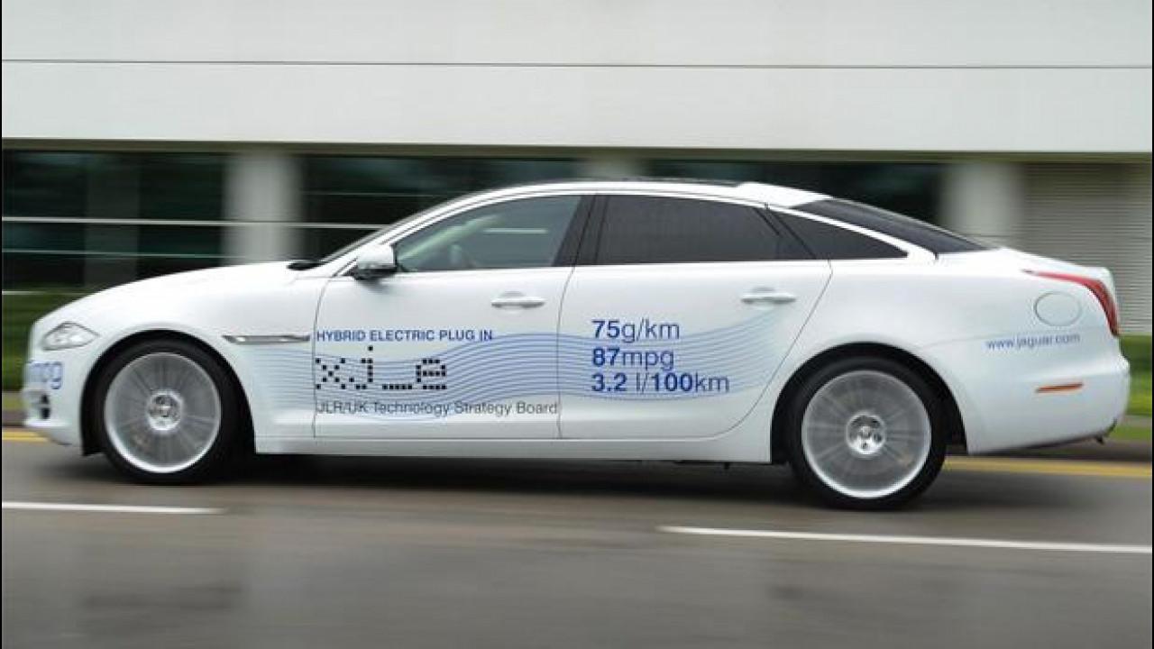 [Copertina] - Jaguar XJ_e, un'ibrida al festival della velocità