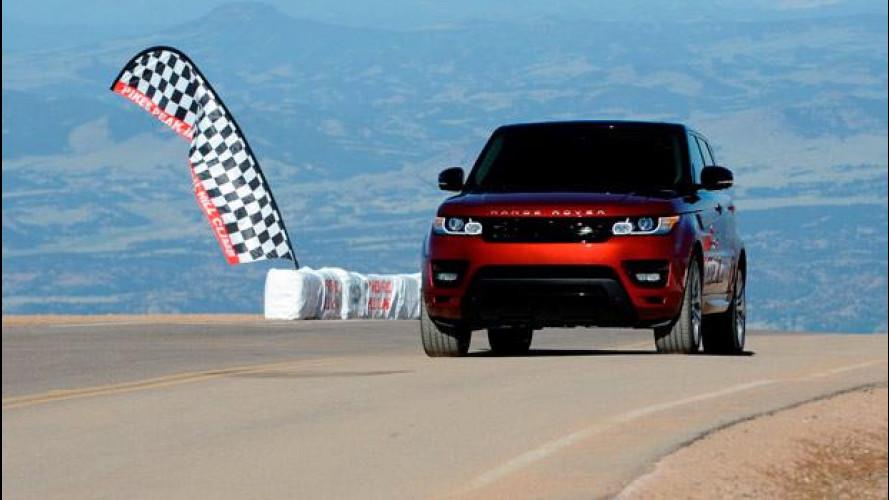La Range Rover Sport è il SUV più veloce della Pikes Peak 2013