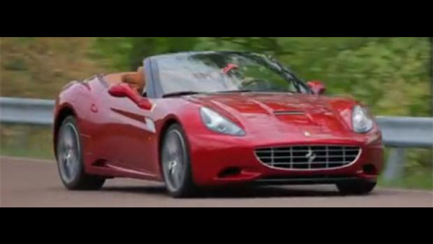 La nuova Ferrari California su strada