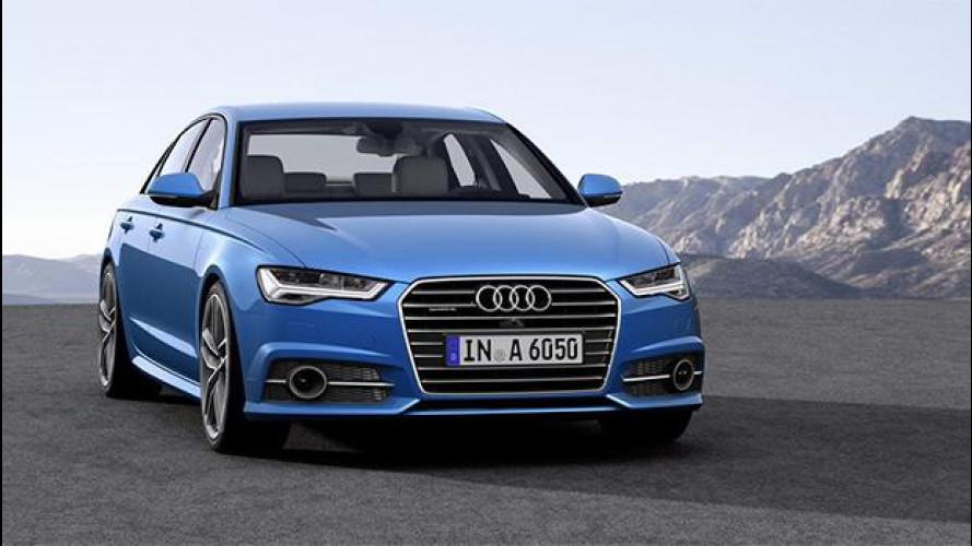 Audi A6 restyling, con i nuovi occhi