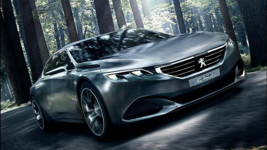 Peugeot Exalt concept, squalo d'assalto