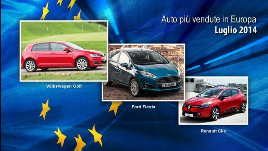 Mercato Auto: in Europa la Golf regna sovrana