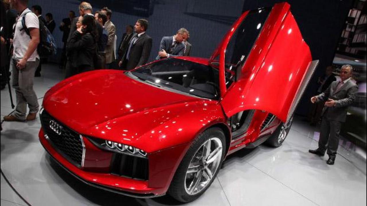 [Copertina] - Salone di Francoforte: emozioni forti in casa Audi